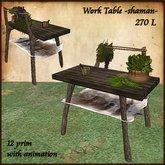 Shaman Herbs Table, Medieval,Healer,Herbalist