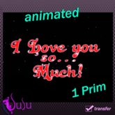 """SuSu- Label - """"I Love you so... much!"""" - animated"""
