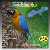 Ps Animated Macaw Realistic Sculpty Bird Talkable Parrot