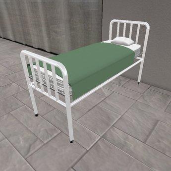 Retro Vintage 1940s Hospital Bed