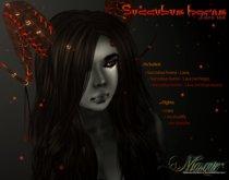 .[.Masque.]. - Succubus horns - Lava