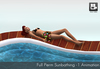 Full Perm sunbathing animation v.1 for hot tubs, pools and beach
