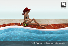 Full Perm Lather up animation for  hot tubs, pools, sunbathing and beach