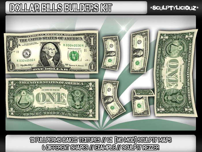 ✪Dollar Bills Builders Kit✪