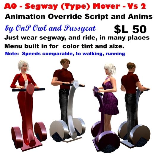 OnP segway type movers
