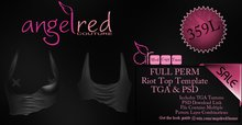 AngelRED - *Discount Item* FULL PERM Riot Top Template Pack