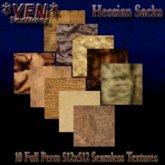 *YEN* Seamless Hessian Sack Textures