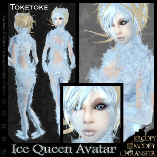 =^.^= Curious Kitties - Ice Queen Avatar - Toketoke