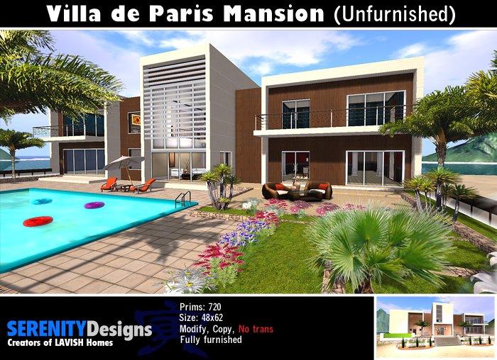 Paris Mansion (Unfurnished)