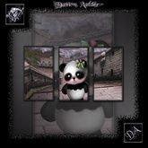NuTec: Gothic Panda Wall Art