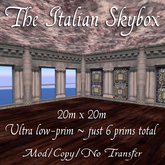 Domicile: The Italian Skybox (low prim)