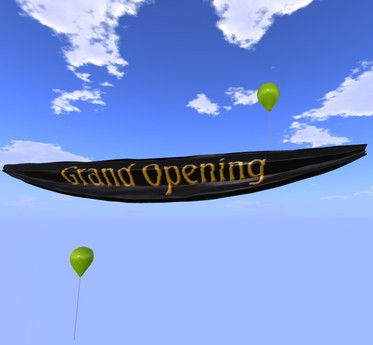 Banner - Grand Opening - Black - MOD/COPY - Xntra City Balloons