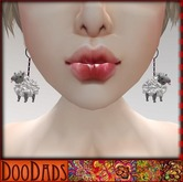 DooDads - Sheep Earrings
