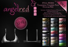AngelRED - FULL PERM Temptation Top Template Pack