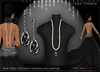 !Rebel Hope Designs - etoile Black Diamond necklace/earrings