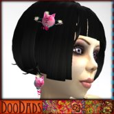 DooDads - Piggie Hair Clip & Piggie Earrings