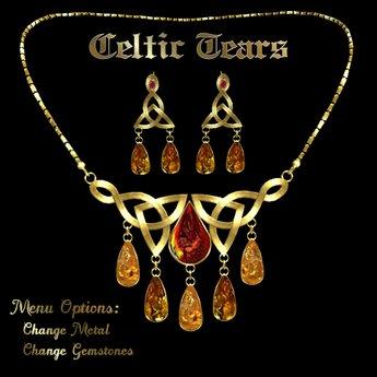 Ashira's Celtic Tears Necklace