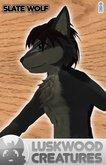 Luskwood Slate Wolf Avatar - Male