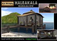 PROMO  60% OFF Haleakala tiki bungalow -box