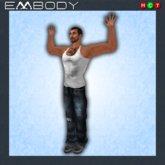 Embody Pose M SURRENDER 2