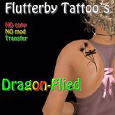 Dragon-Flied (left shoulder)