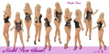 PURPLE POSE SUSAN - Model Poses