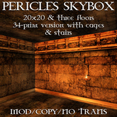 Domicile: Pericles 3-storey skybox (34 prim version)