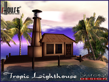 sHouse Tropic Small Lighthouse Tope