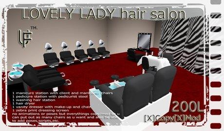 """""""UF"""" LOVELY LADY beauty salon"""
