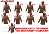 Shoulder Plates 1st edition FULL PERM SCULPT+SHADEMAPS