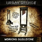 * Halloween Special * Working Guillotine Your Head Vanishes & Severed Head Falls!