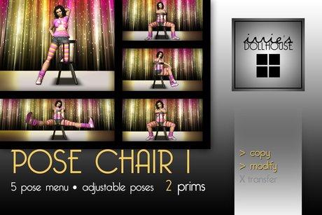 i [ DH ] *FREE * studio pose chair