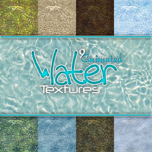 9 Animated Water Textures
