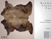 [HANDverk]Floor Fur.brown