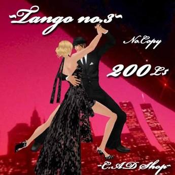 [Carmen's] Tango3 for INTAN