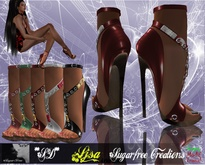 **SD**-Ljsa Romantic  formal shoes Stiletto Fatpack