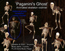 Paganini's Ghost. A spooky violin playing skeleton