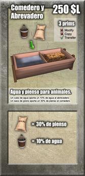 Comedero de animales [G&S]