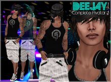 >> Zyra << DEEJAY ~ Complete Male Avatar ~ ++ OUTLET Price ++