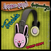 .{PSYCHO:Byts}. Headphones Bunny