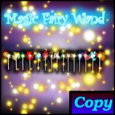 Magic Fairy Wand - 15 Scripted Spells