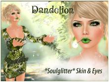 GIFT *Soulglitter* Dandelion - Skin & Eyes