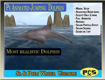 PS Dolphin Roam & Jump Family Plakat
