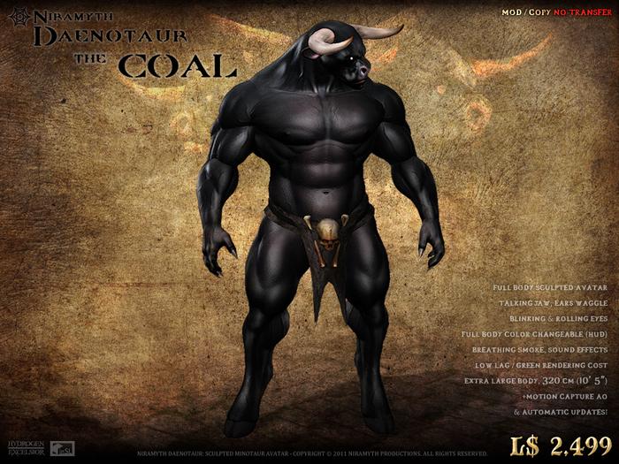 """""""The Coal"""" Niramyth Daenotaur"""
