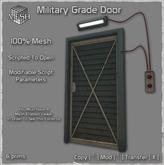Military Grade Mesh Door