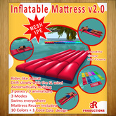 [aR] Mesh Inflatable Mattress  v2.0