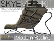 Skye MESH Kit - Modern Recliner - Full perms for creators