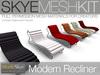 Skye mesh recliner 5