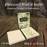 Physicians Book - Herbs