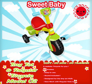 Sweet Baby - Tiny Tot & Regular Tricycle Model 02